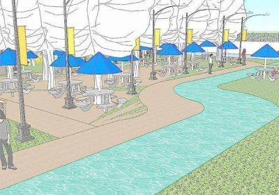 Expropiarían terrenos para crear un parque en la 137