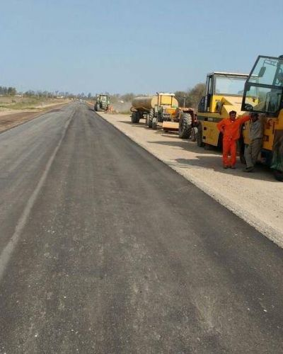 Se reconstruye la ruta provincial 206