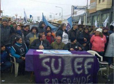 Desde el SUTEF sostienen que el levantamiento obliga al Gobierno a dialogar
