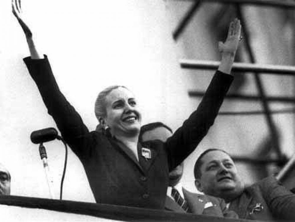 Exhibición de fotos inéditas de Eva Perón