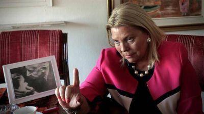 Elisa Carrió se opone a los nombramientos que hizo Mauricio Macri en la AFI