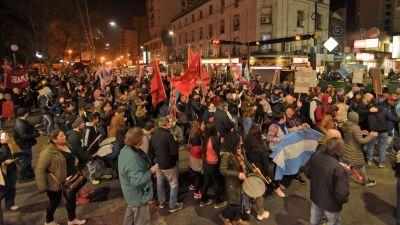 Nueva protesta contra el Gobierno en distintos puntos del país