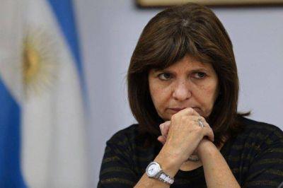 Denunciaron a Bullrich por revelar datos sobre la custodia de Cristina