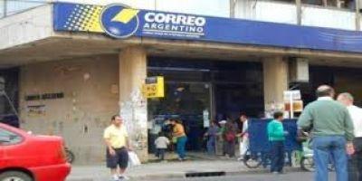 Sin atención en el Correo Argentino por reclamo sindical
