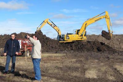 Comenzaron las obras para la planta de separaci�n de residuos