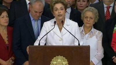 La comisión evaluadora del Senado votó destituir a Dilma Rousseff