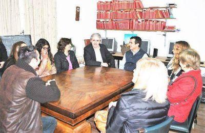 El presidente del Instituto de Previsión Social visitó Chascomús y se reunió con el Intendente