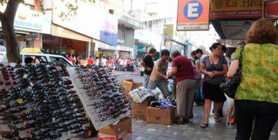 Hubo una disminución en la venta callejera en San Miguel de Tucumán