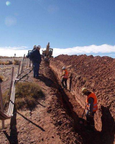 Etapa final para la fibra óptica en la Quebrada
