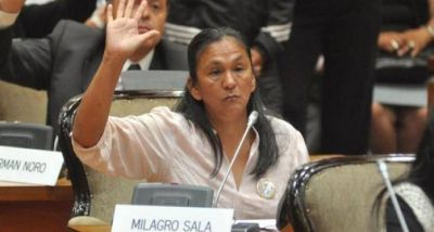 Para el INADI, Milagro Sala discriminó a una persona cuando era diputada provincial