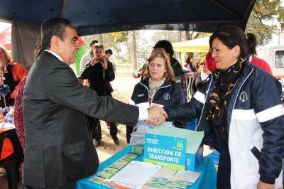 El intendente Alfaro supervisó el programa