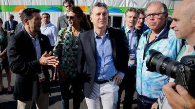 Mauricio Macri se mostró optimista para organizar los Juegos Olímpicos del 2030