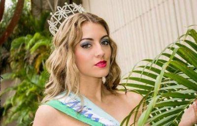 Es finalista de Miss Argentina y milita por la detecci�n precoz de la sordera
