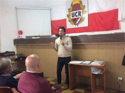 Erreca participó de un encuentro de concejales radicales