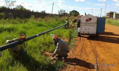 Para extender la red del gas natural, adjudican obras en Paso de los Libres