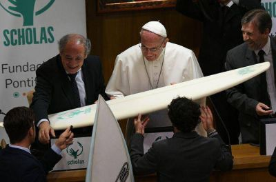 El Papa respalda a Scholas y ratifica a sus directores
