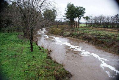 Obras en el río Luján: