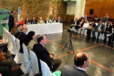 Legisladores nacionales estuvieron en San Luis para conocer detalles de la Emergencia H�drica