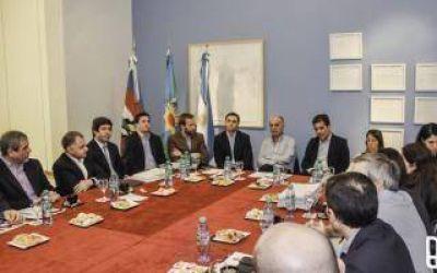 Lanús: Grindetti y Ritondo encabezaron reunión del Consorcio del Conurbano Sur