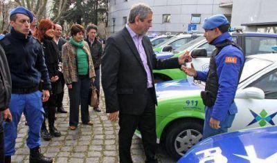 La Comuna entregó 11 móviles al Comando de Patrulla y a la Policía local