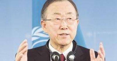 Macri recibe con honores a Ban Ki-moon y espera un gui�o para Malcorra en la ONU