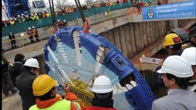 Así trabajan para que el tren Sarmiento corra bajo tierra