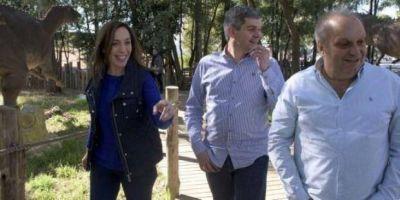 Vidal, Marcos Peña y Lombardi juntos en Tecnópolis
