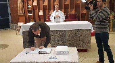 Cellillo adhiri� una vez m�s al pacto de San Antonio De Padua