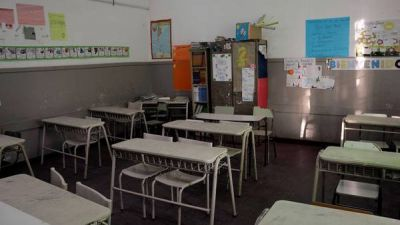 Los docentes bonaerenses amenazan con hacer un paro el jueves