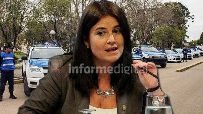 Senadora entrerriana quiere más patrulleros y equipamiento policial en provincias