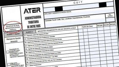 ATER agiliza el trámite para darse de baja en 5 impuestos
