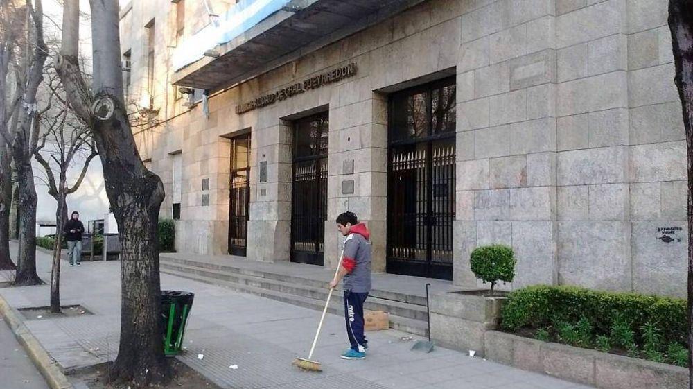 Alto acatamiento al paro de los trabajadores municipales