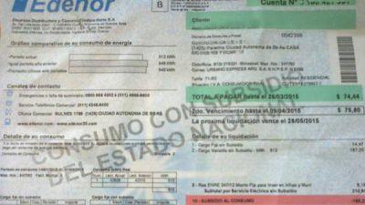 """Edenor confirmó que van a llegar """"facturas con saldos a favor"""""""