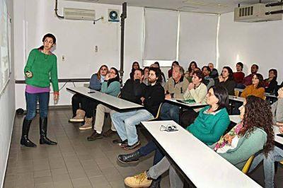 Jóvenes investigadores presentaron los proyectos que desarrollarán en el Inidep