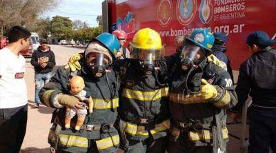 Girarán $600 mil para los bomberos voluntarios