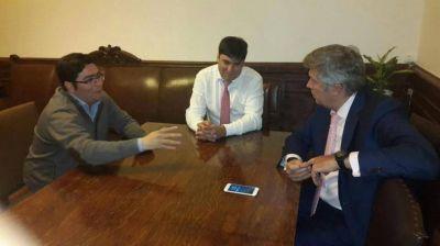 D'Alessandro y Diego Bossio se reunieron por la situación de las casas sin terminar del Procrear