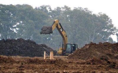 Apuran la obra de la nueva planta de basura