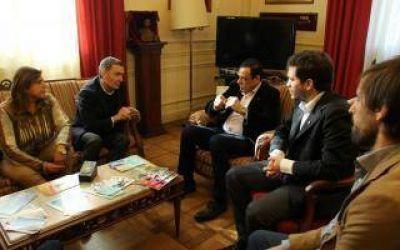 Zárate: Cáffaro recibió al Secretario de Derechos Humanos de la Provincia