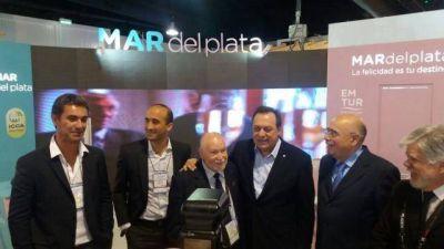 Mario Marchioli se reuni� con el ministro de Turismo nacional Gustavo Santos