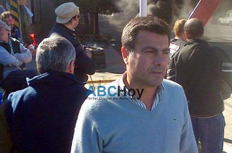 """Carlos Romano: """"La empresa quería que viajemos a Buenos Aires. Que no nos tomen más el pelo"""""""