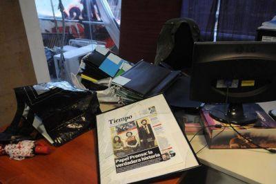 Pasó al fuero federal la investigación del ataque a Tiempo Argentino