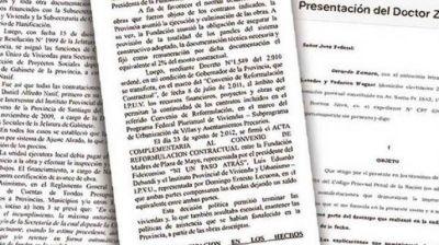 Zamora declaró por la causa Sueños Compartidos y destacó que en Santiago el proyecto
