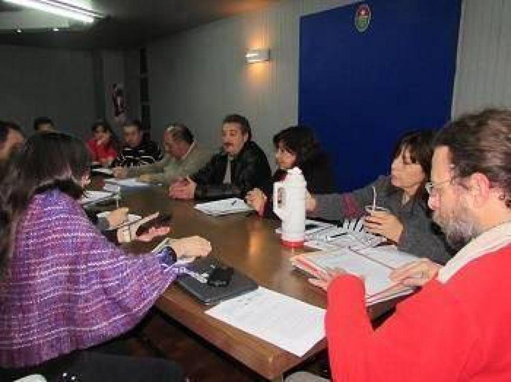 Agmer presentó demandas de infraestructura en la comisión paritaria