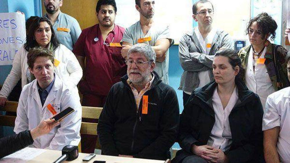 SIPROSA paralizará el hospital de Río Grande este jueves