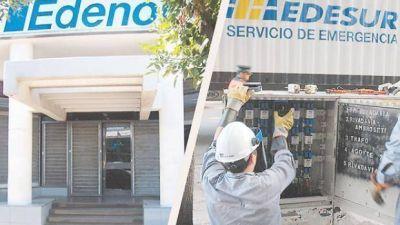 Sin aumentos de tarifas, Edenor y Edesur acumulan pérdidas por $ 1200 millones