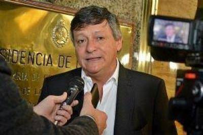 Peppo ratificó ante el PJ nacional la vocación de construir un nuevo frente