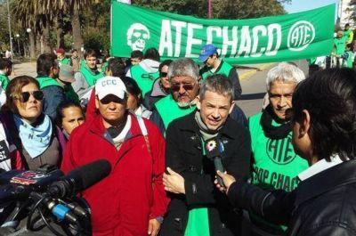 Este jueves, paro nacional de ATE con movilizaci�n en Resistencia