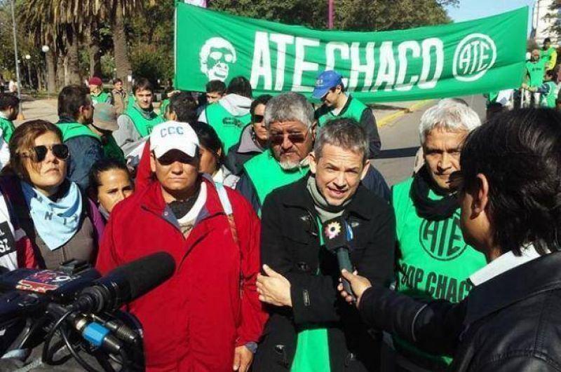 Este jueves, paro nacional de ATE con movilización en Resistencia