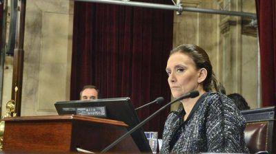 Gabriela Michetti y Miguel Pichetto mantuvieron un fuerte cruce en el Senado