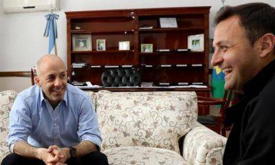 El intendente Ducoté se reunió con el Diputado Ivoskus